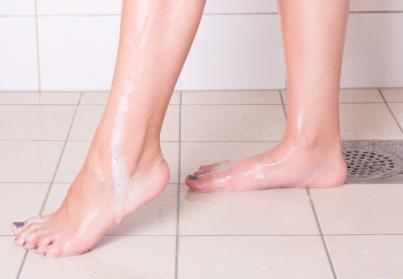 Badkamervloer antislip maken