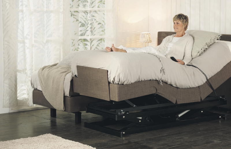 Multifunctionele boxspring